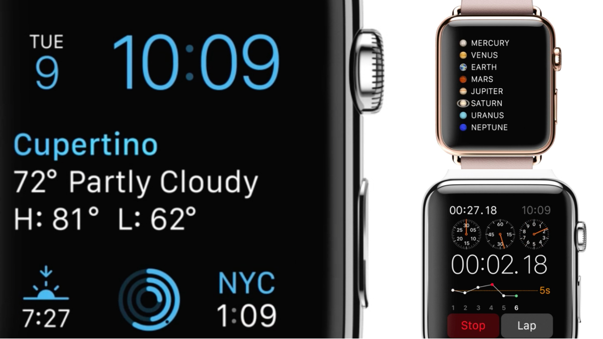 The Apple Watch's new custom typeface