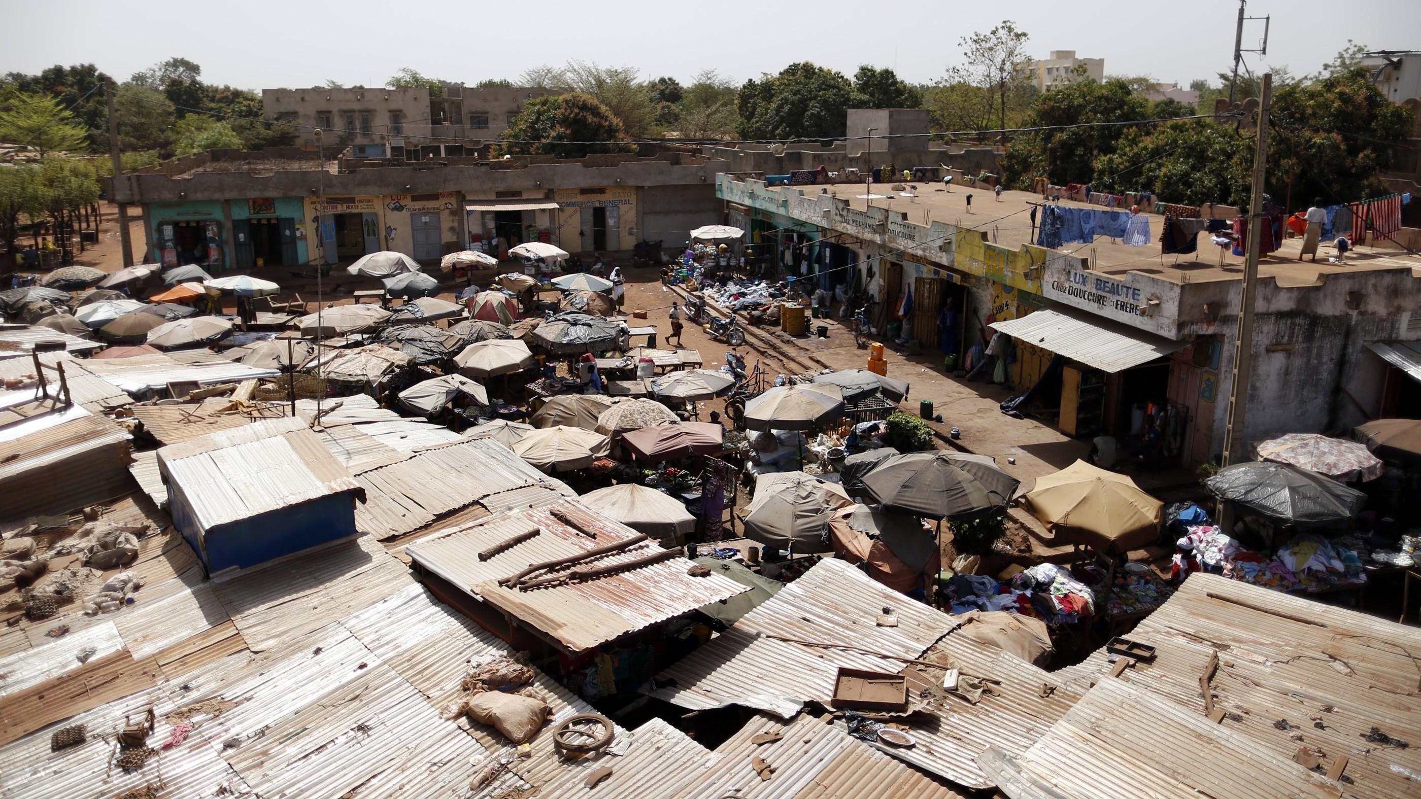 Bamako Mali market