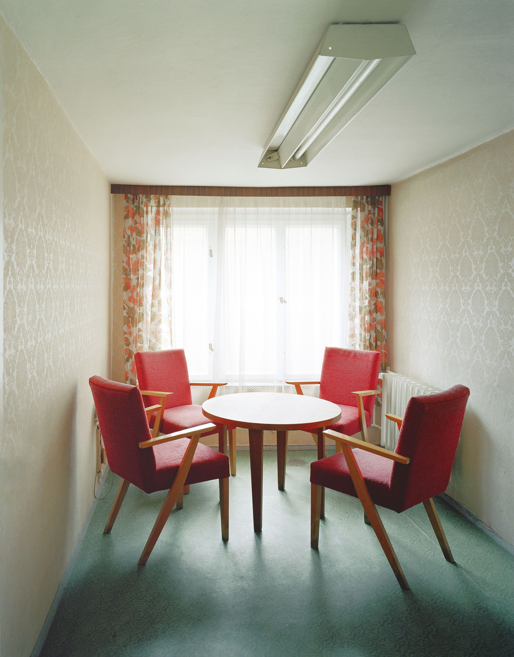 A room in a Stasi jail