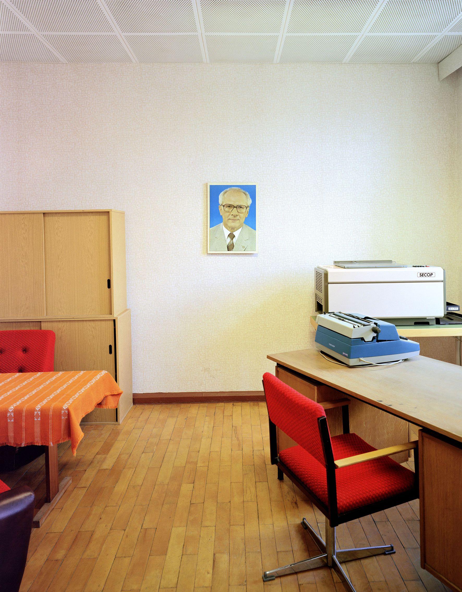 Bautzen prison director's office