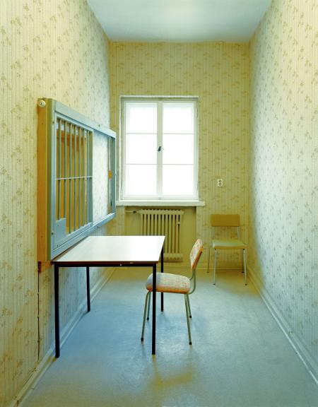 A room in a Stasi prison in Berlin