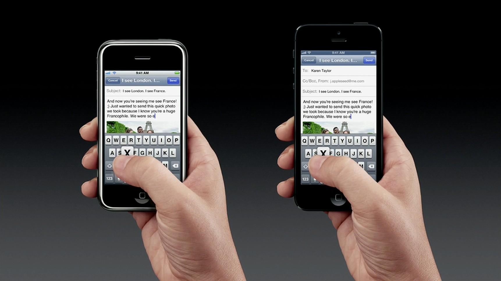 iPhone 5 Thumbs