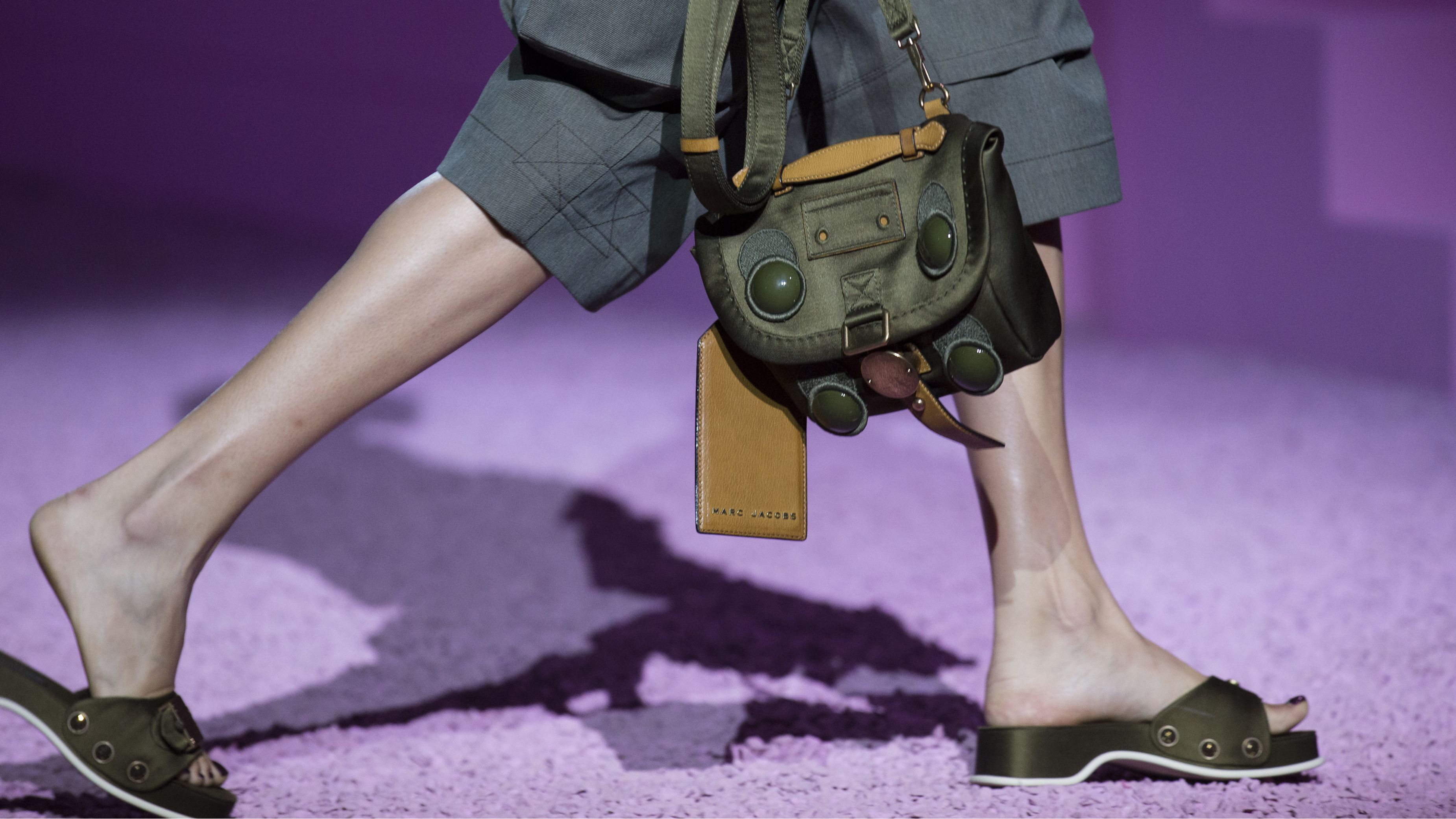 marc jacobs sandals fashion week spring 2015