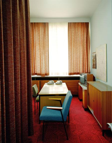 A room for employees of Erich Mielke, the head of the Stasi
