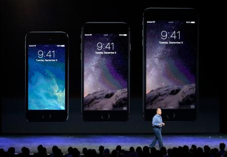iPhone 5S, iPhone 6, and iPhone 6 Plus