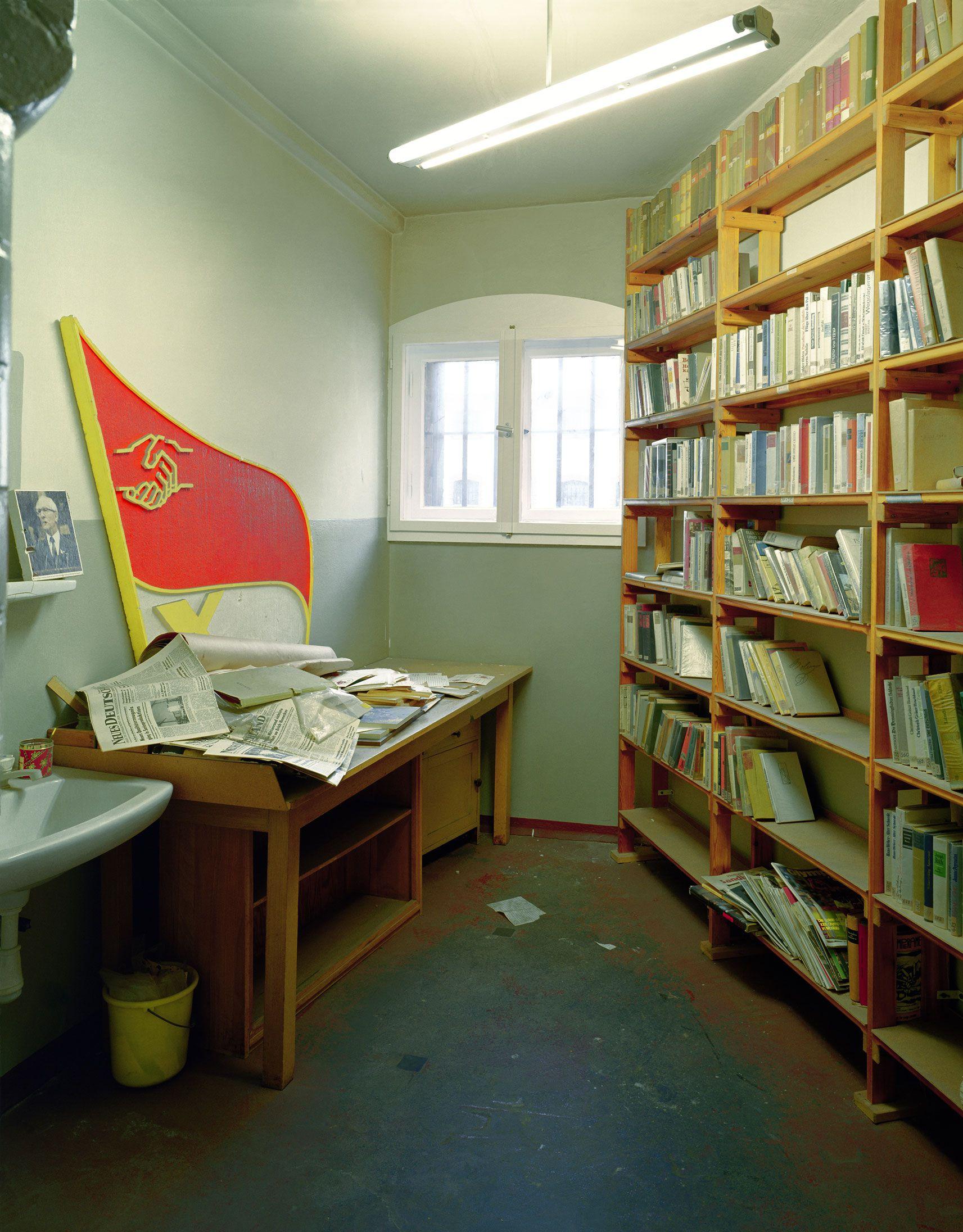 Library in a Stasi prison in Potsdam