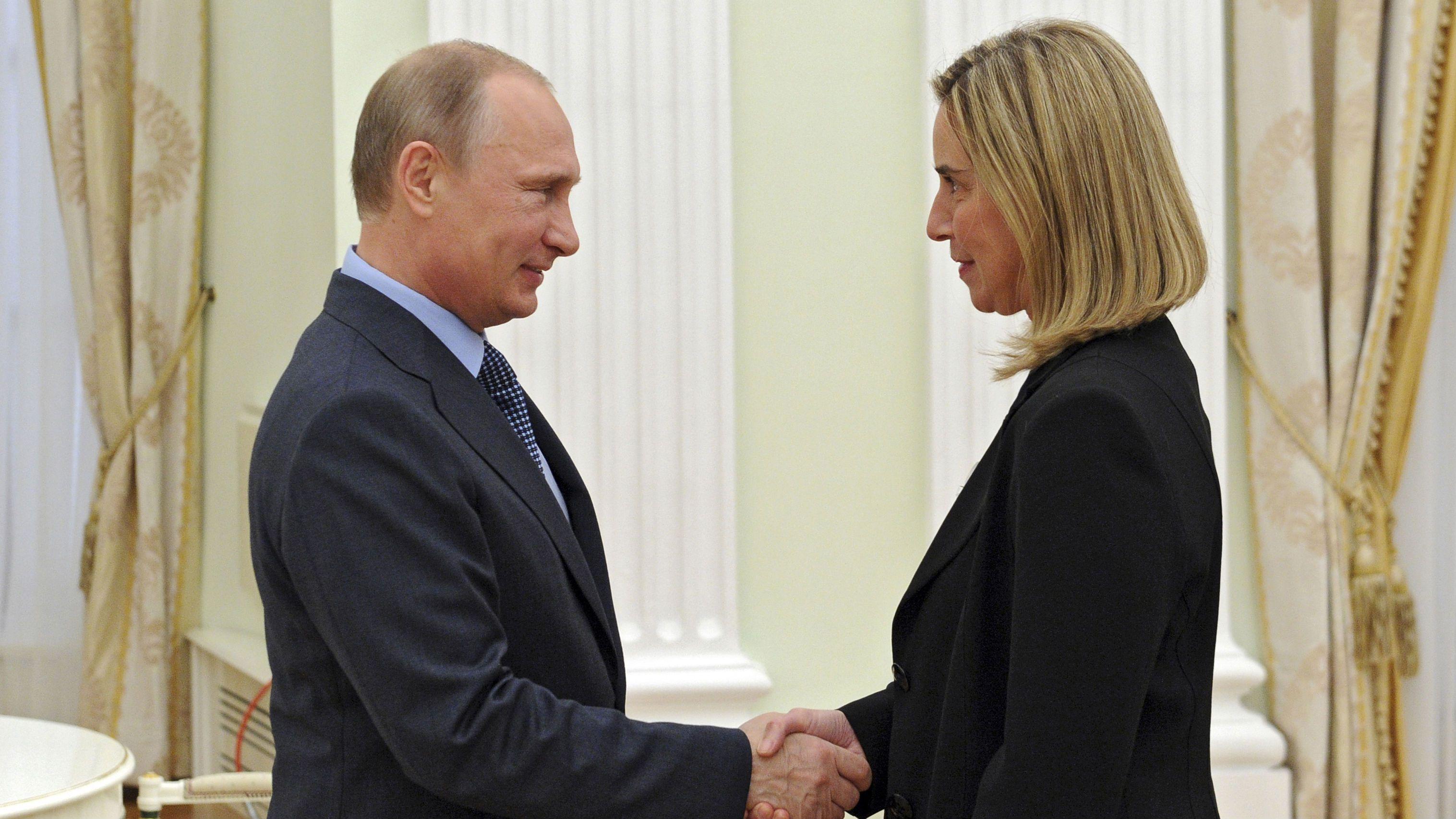 Putin Mogherini