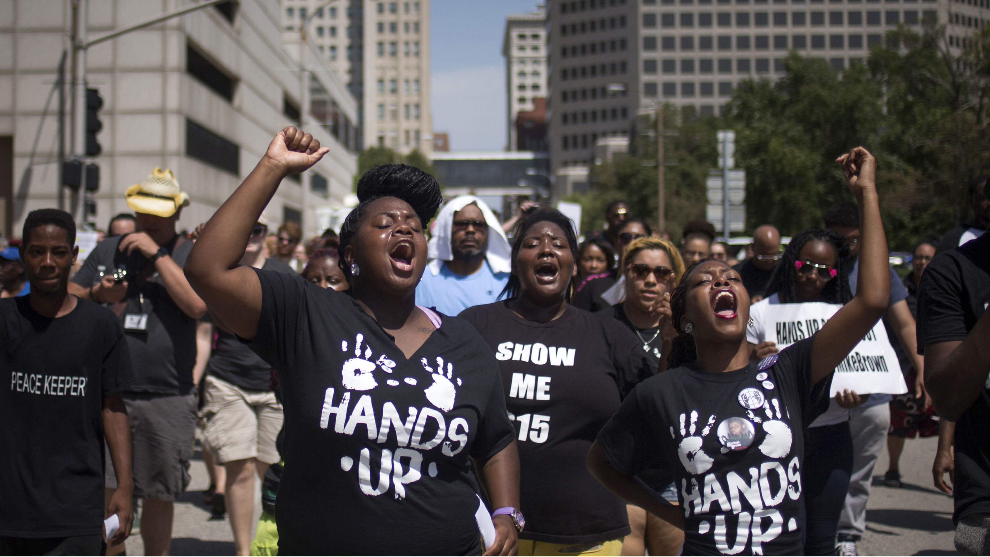 Activists demand justice for Michael Brown