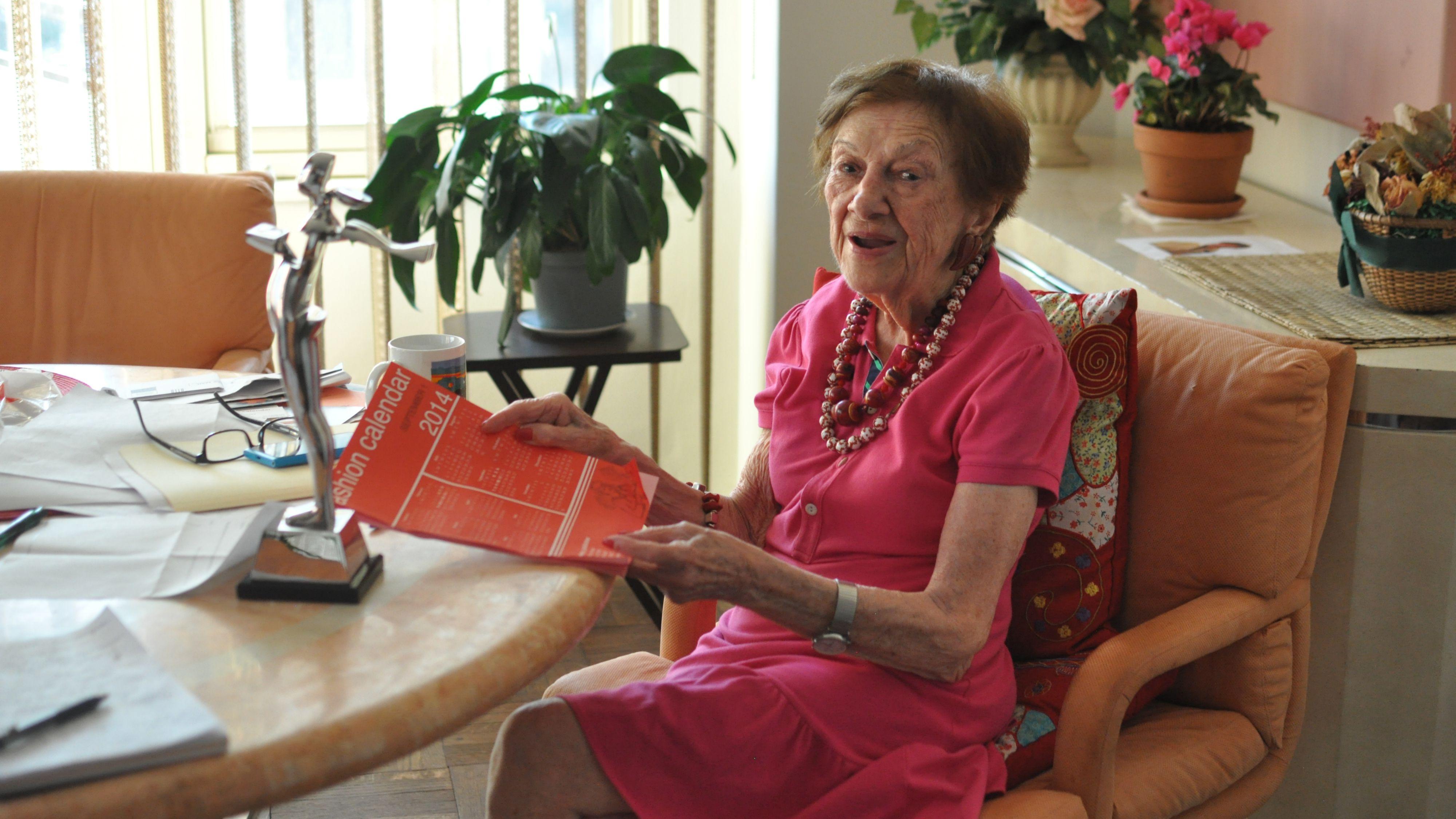 Ruth Finley, founder of the Fashion Calendar New York Fashion Week