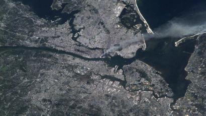 September 11th from space