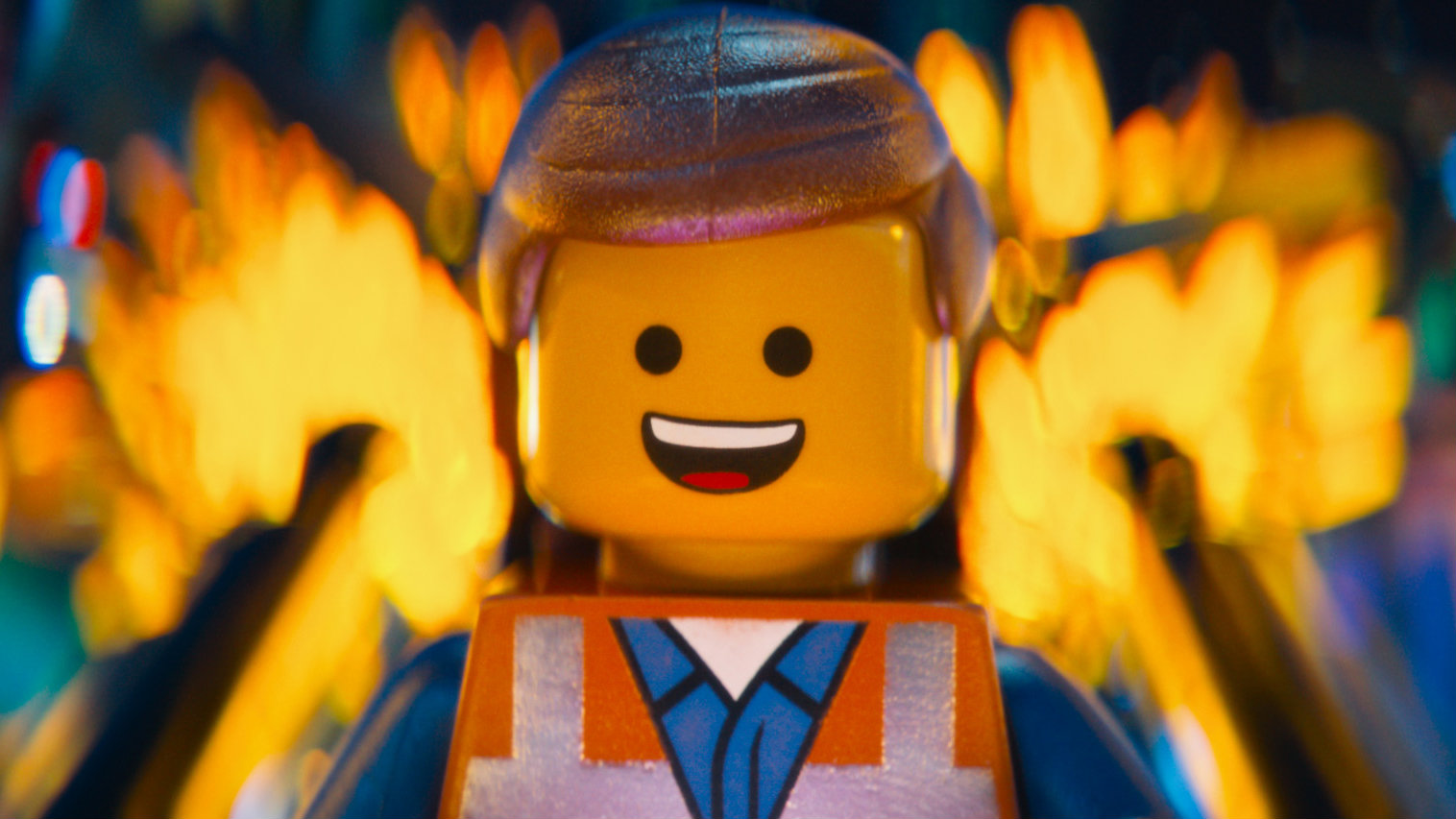 """A character from """"The Lego Movie."""""""