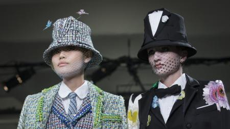 Thom Browne, Spring 2015 new york fashion week