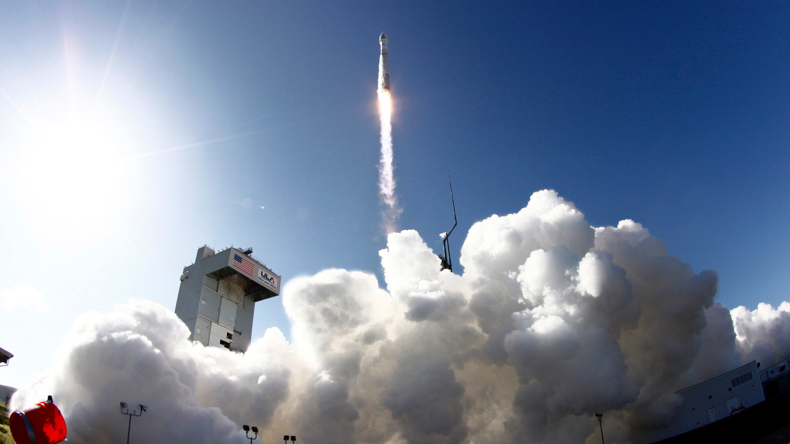 The United Launch Alliance (ULA) Atlas-V rocket with the Landsat Data Continuity Mission (LDCM) spacecraft onboard is seen as it launches at Vandenberg Air Force Base, California, February 11, 2013. The LDCM mission is a collaboration between NASA and the U.S. Geological Survey that will continue the Landsat Program's 40-year data record of monitoring the Earth's landscapes from space.