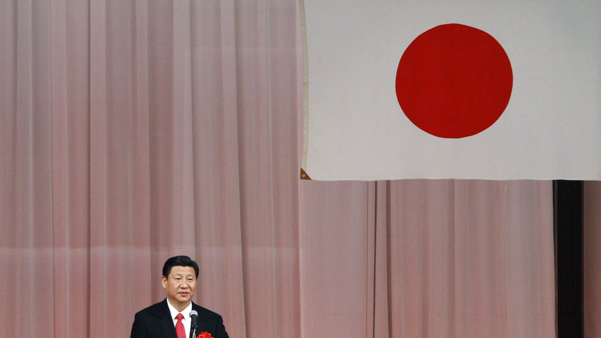 """japan china bad debt toxic asset housing crash stock market economy growth gdp banking bailout financial crisis recapitalization In this Dec. 15, 2009 file photo, Chinese Vice President Xi Jinping delivers a speech during a welcome reception hosted by Japan China friendship groups in Tokyo. China on Tuesday ruled out a meeting between the Chinese and Japanese leaders at next month's Group of 20 summit in Russia, citing a festering territorial dispute and provocations by Tokyo. Japan's failure to """"broaden its mindset, face historical facts and take concrete actions to remove obstacles"""" make a meeting between President Xi Jinping and Prime Minister Shinzo Abe impossible, Vice Foreign Minister Li Baodong was quoted as saying by the official Xinhua News Agency. (AP Photo/Koji Sasahara"""