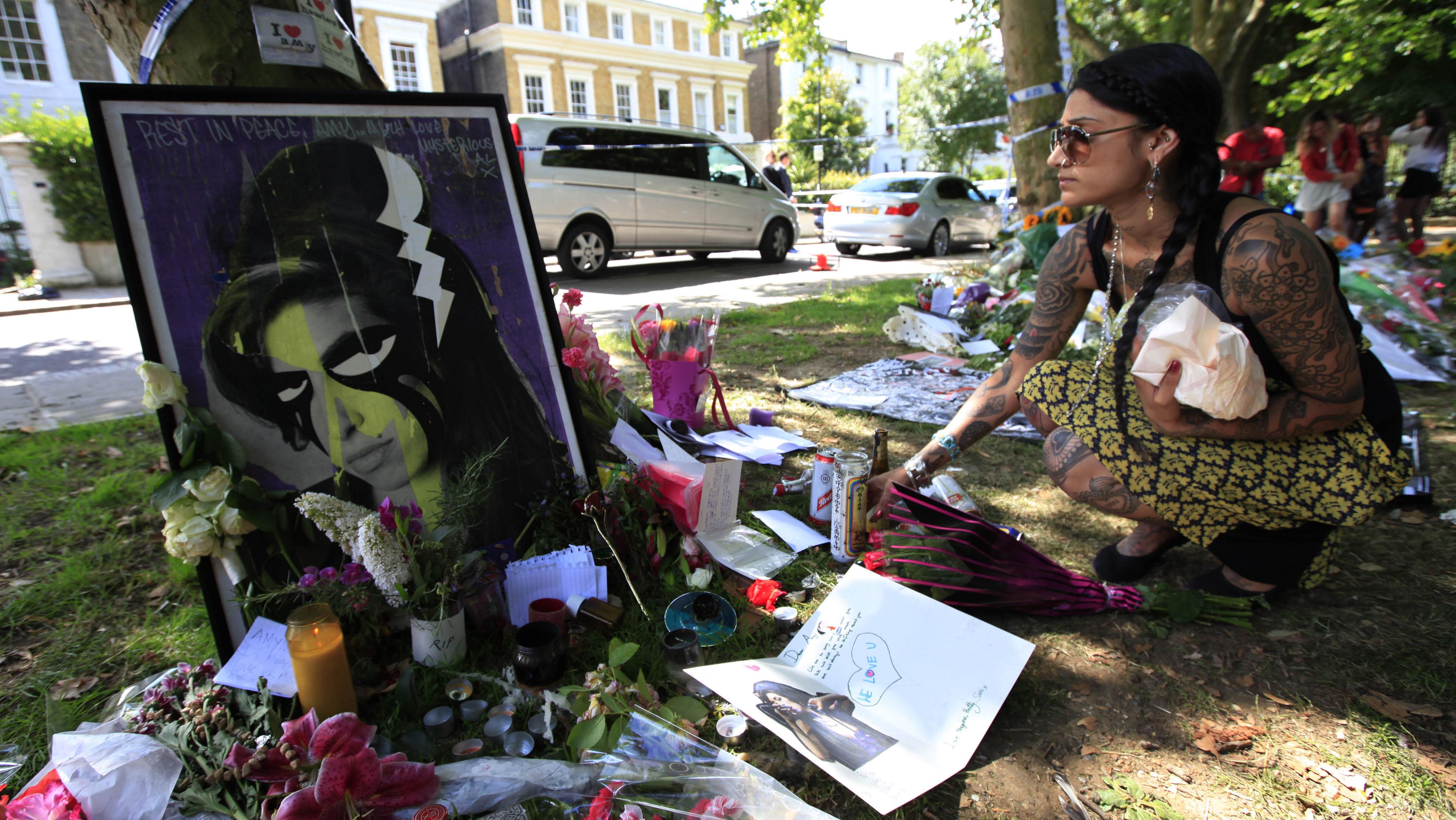 Amy Winehouse memorial