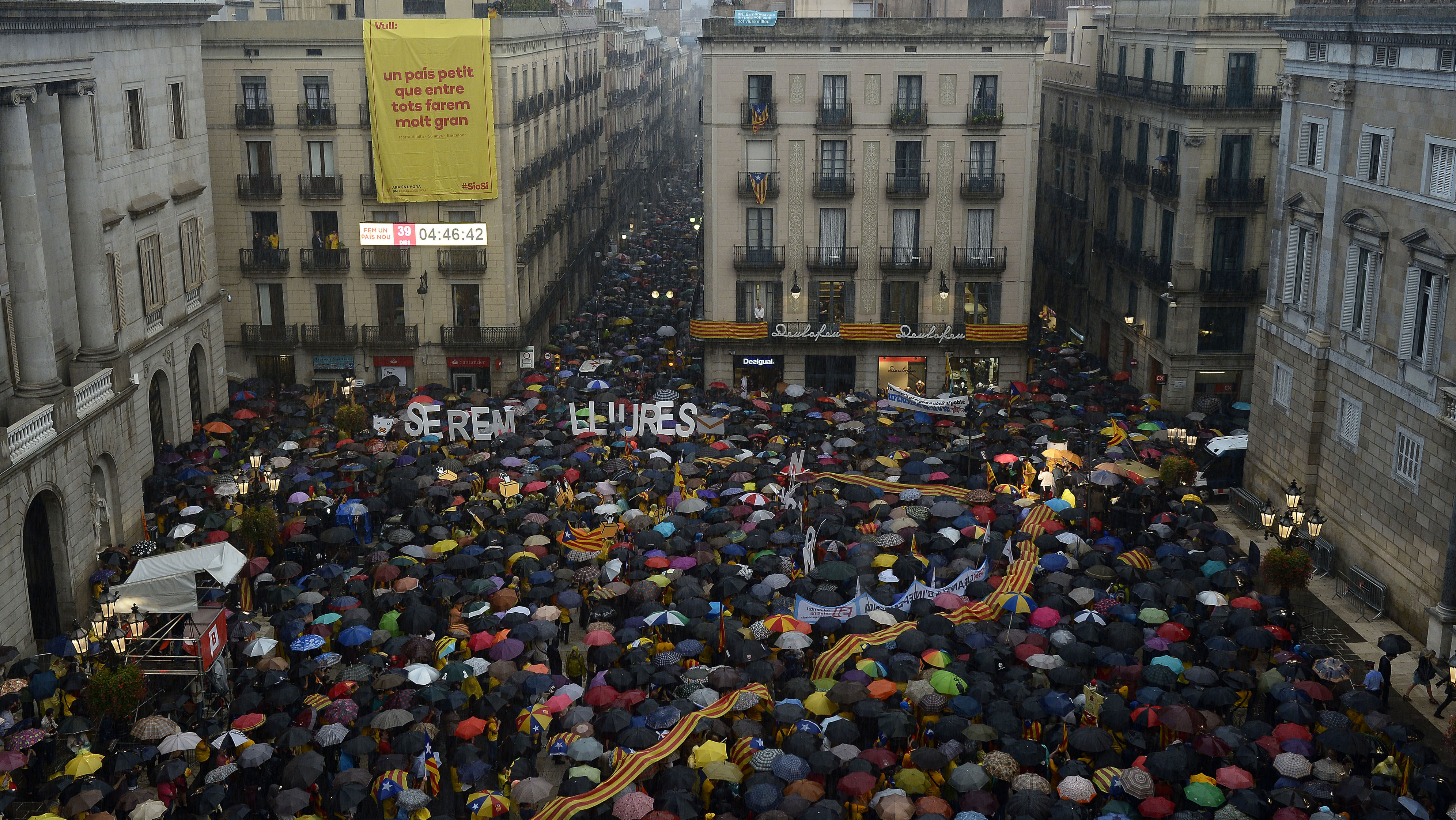 Catalonia independence protests