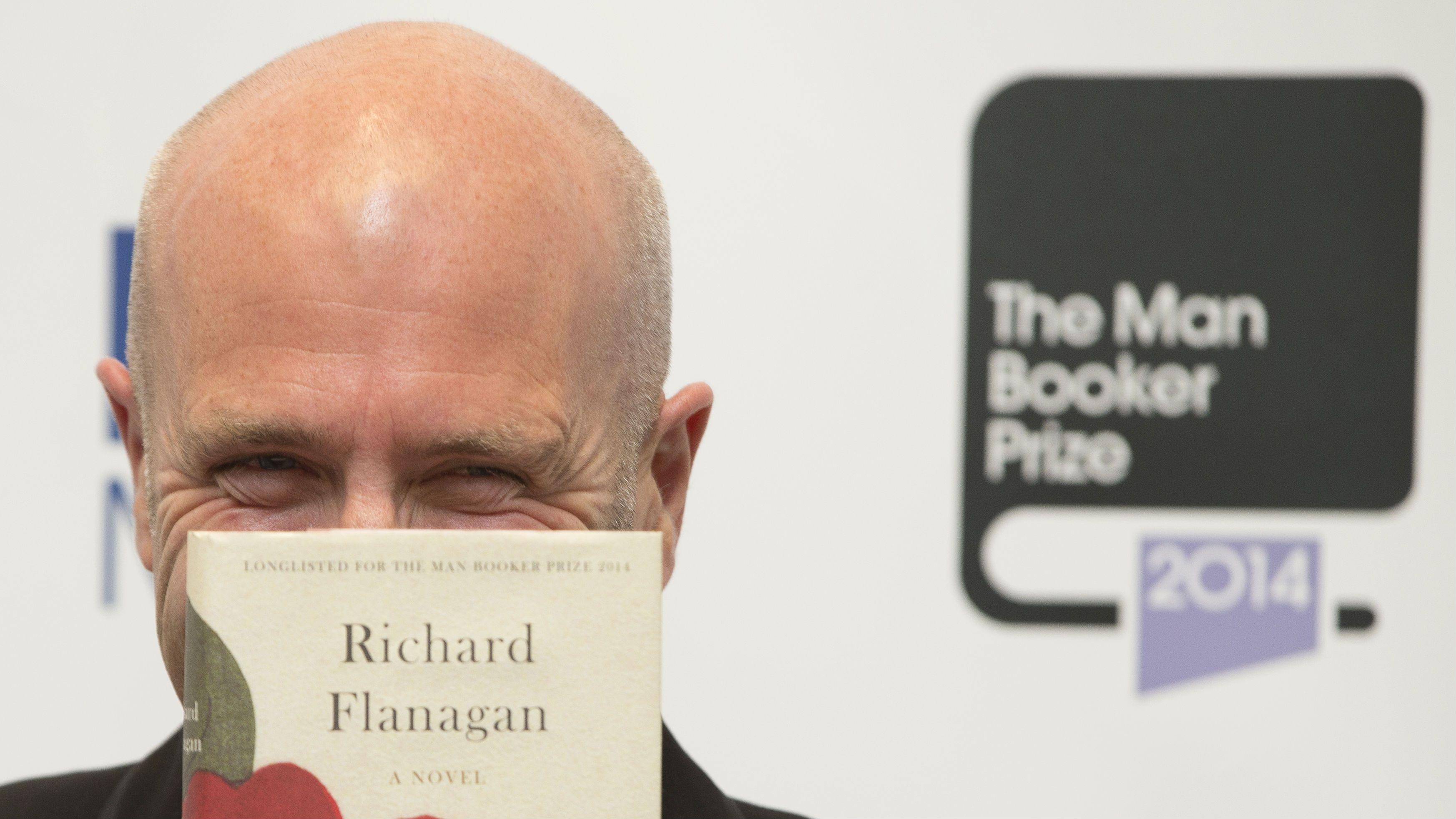 Richard Flanagan Man Booker