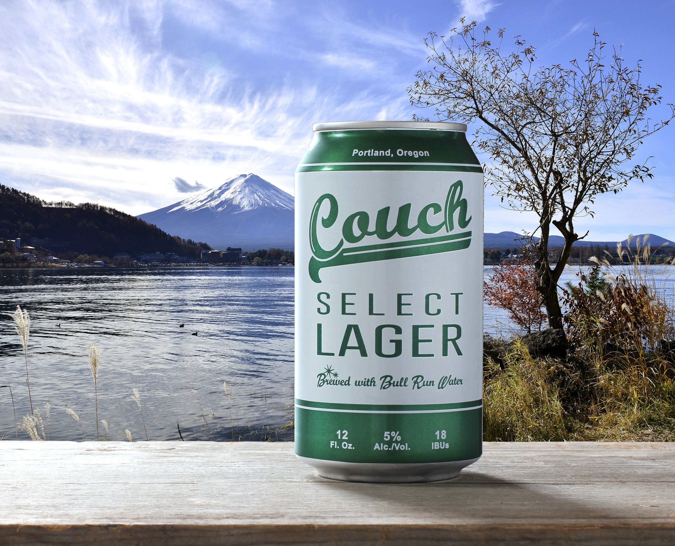 Burnside Brewing Co. has launched Couch Select Lager in Rexam 12 oz. cans. This introduction is the brewery's first foray into single serve packaging. (PRNewsFoto/Rexam) THIS CONTENT IS PROVIDED BY PRNewsfoto and is for EDITORIAL USE ONLY**