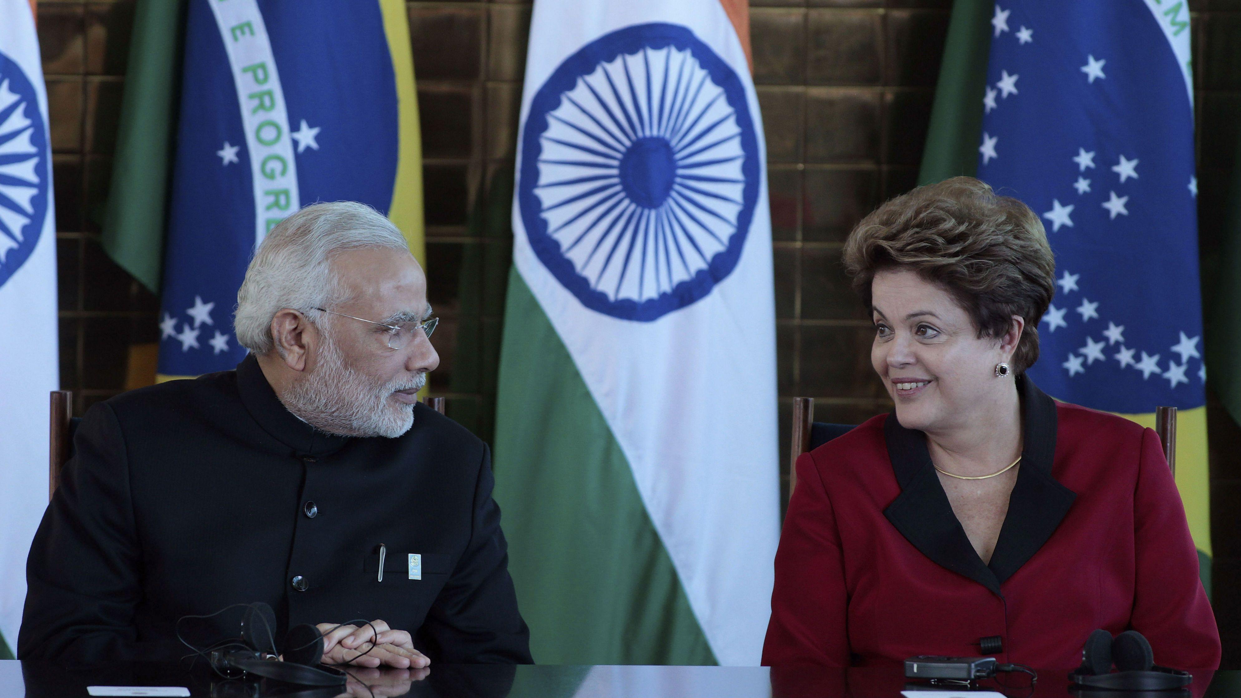 Dilma and Modi