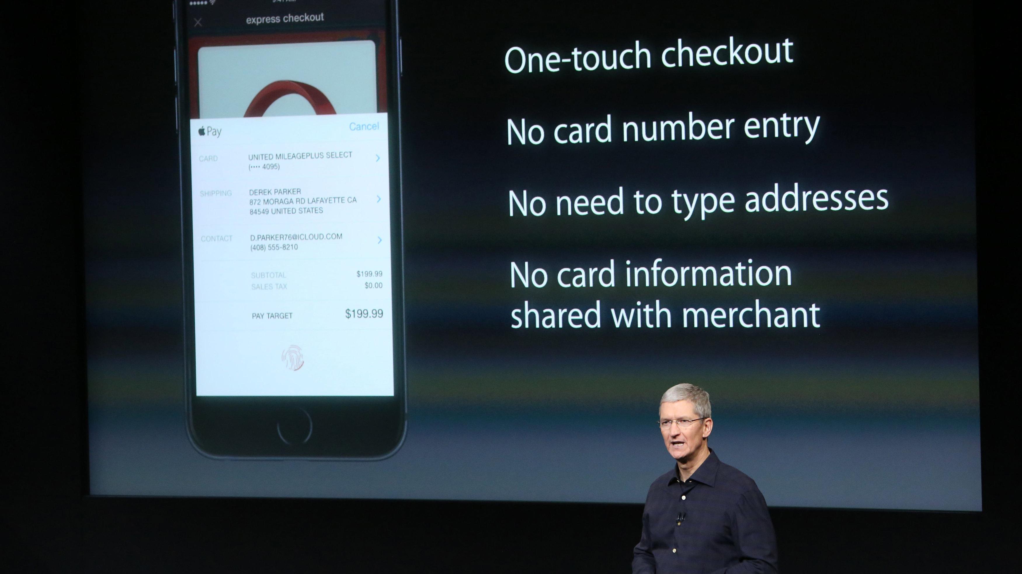 Apple pay presentation