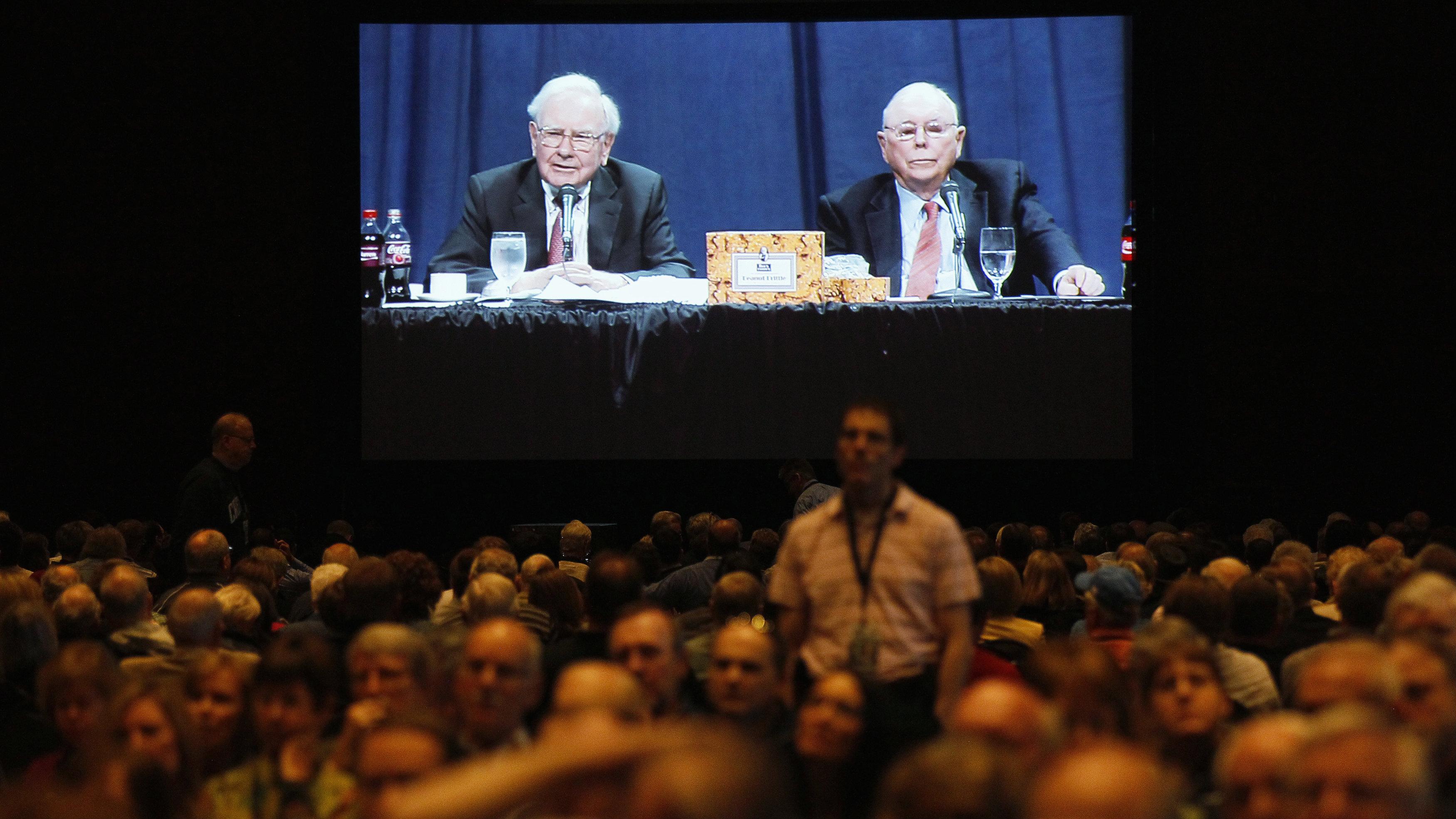 Berkshire Hathaway meeting