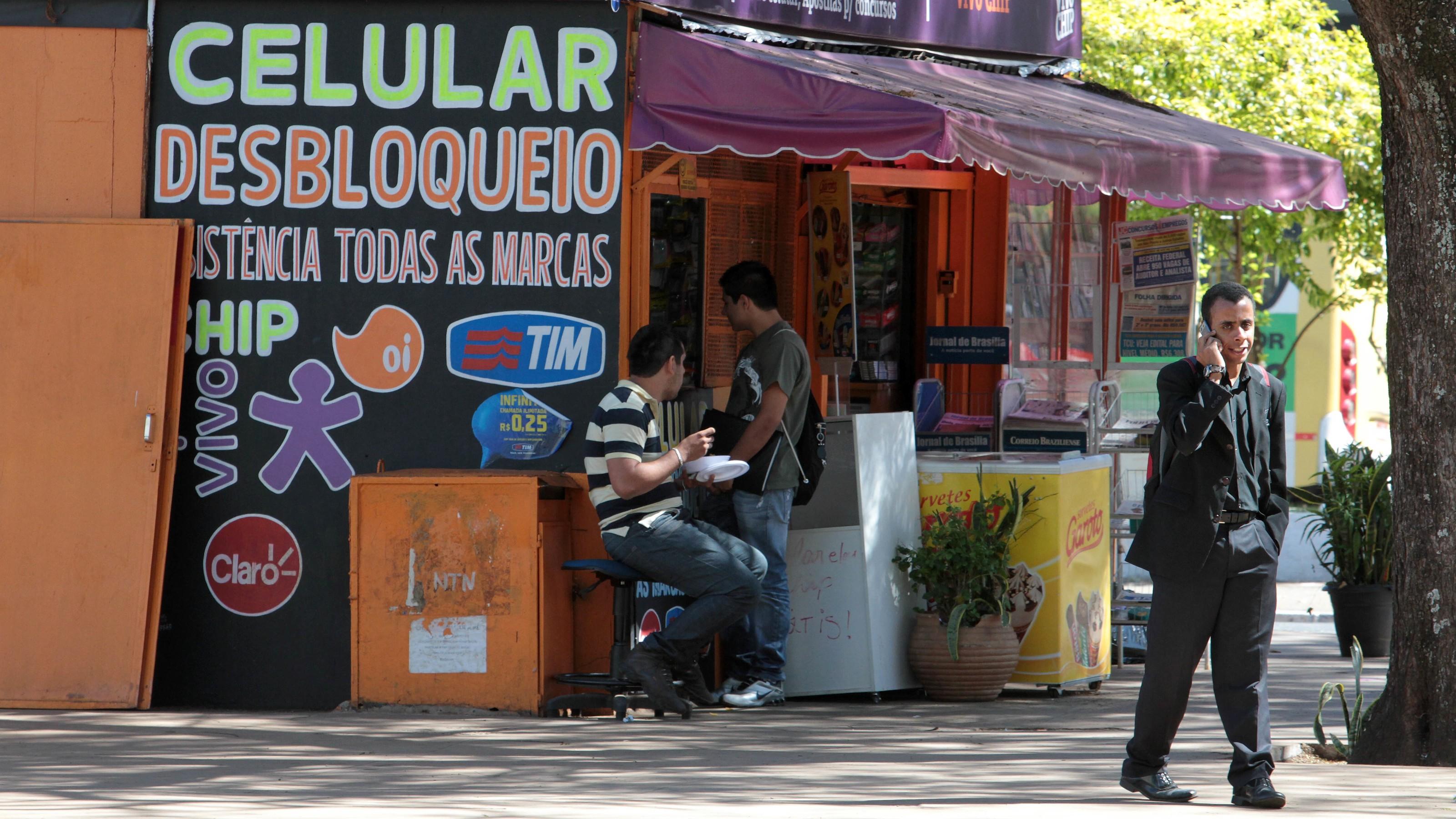Brazil phone shop