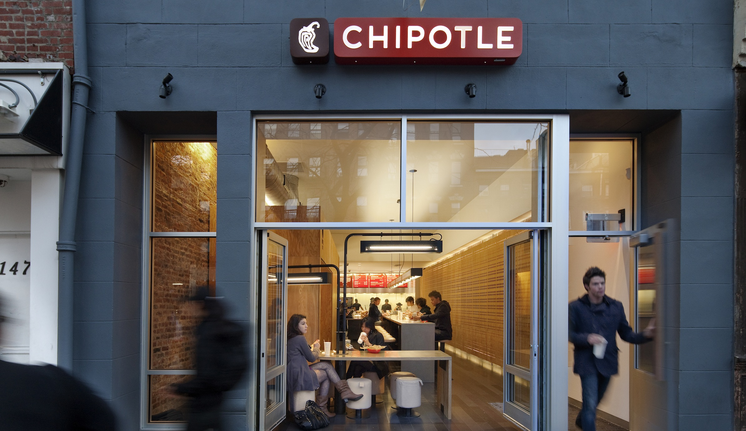 CHIPOTLE RESTAURANT CHELSEA Location: New York NY, Architect: Outfit Architecture