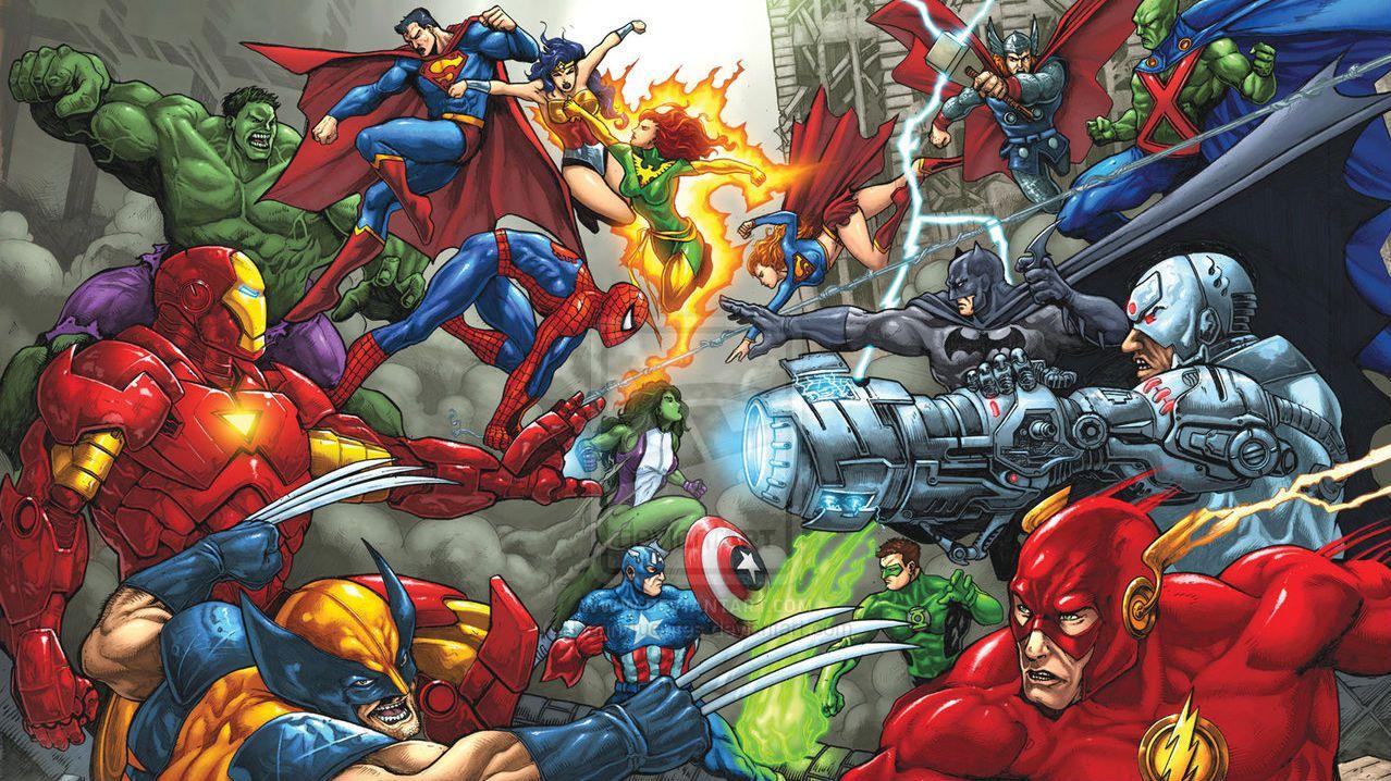 DC vs. Marvel