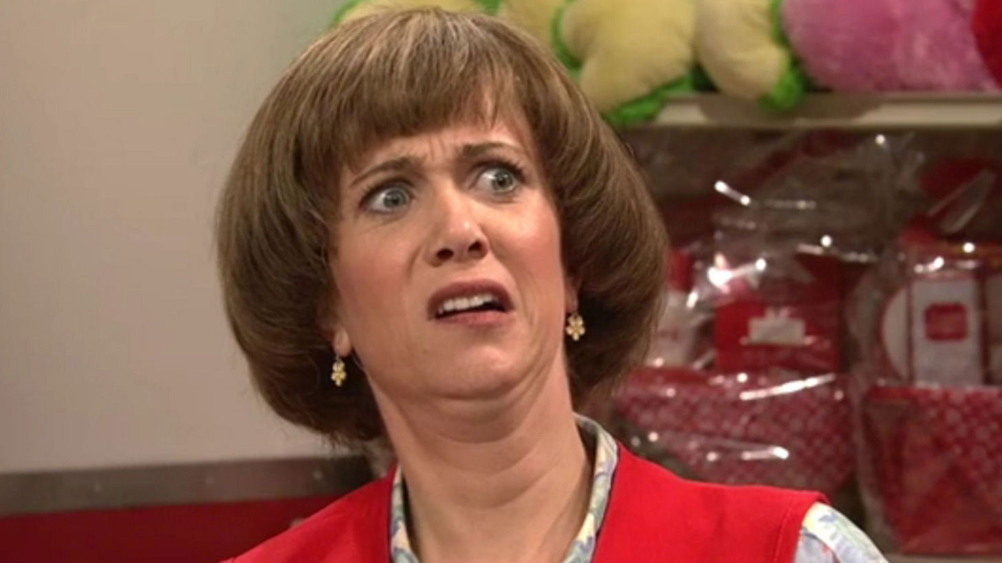 Disgusted Kristen Wiig SNL