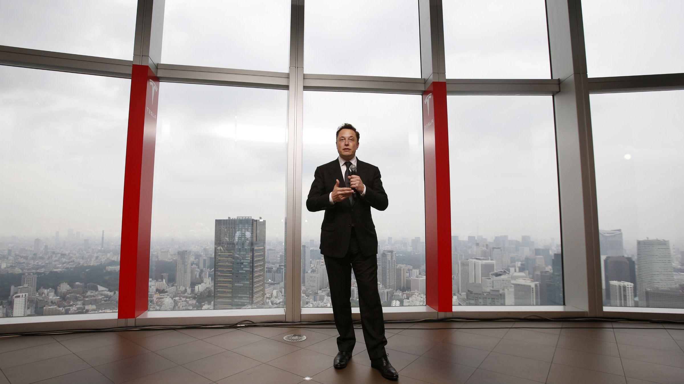 Elon Musk Tesla Apple Steve Jobs