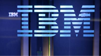 In this file photo taken Jan. 13, 2011, the IBM logo is displayed. IBM Corp., reports quarterly financial results Monday, July 18, 2011, after the market close. (AP Photo/Seth Wenig, file)