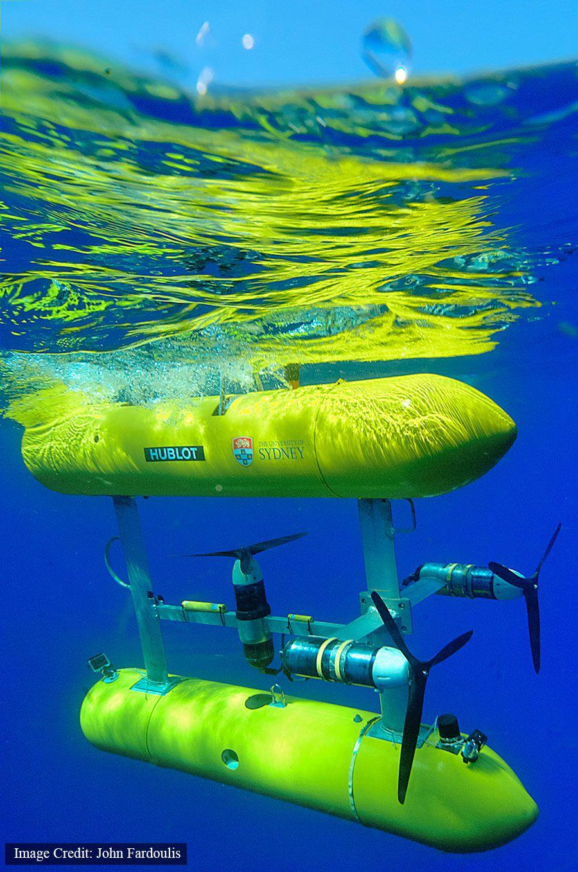 SIRIUS underwater robot