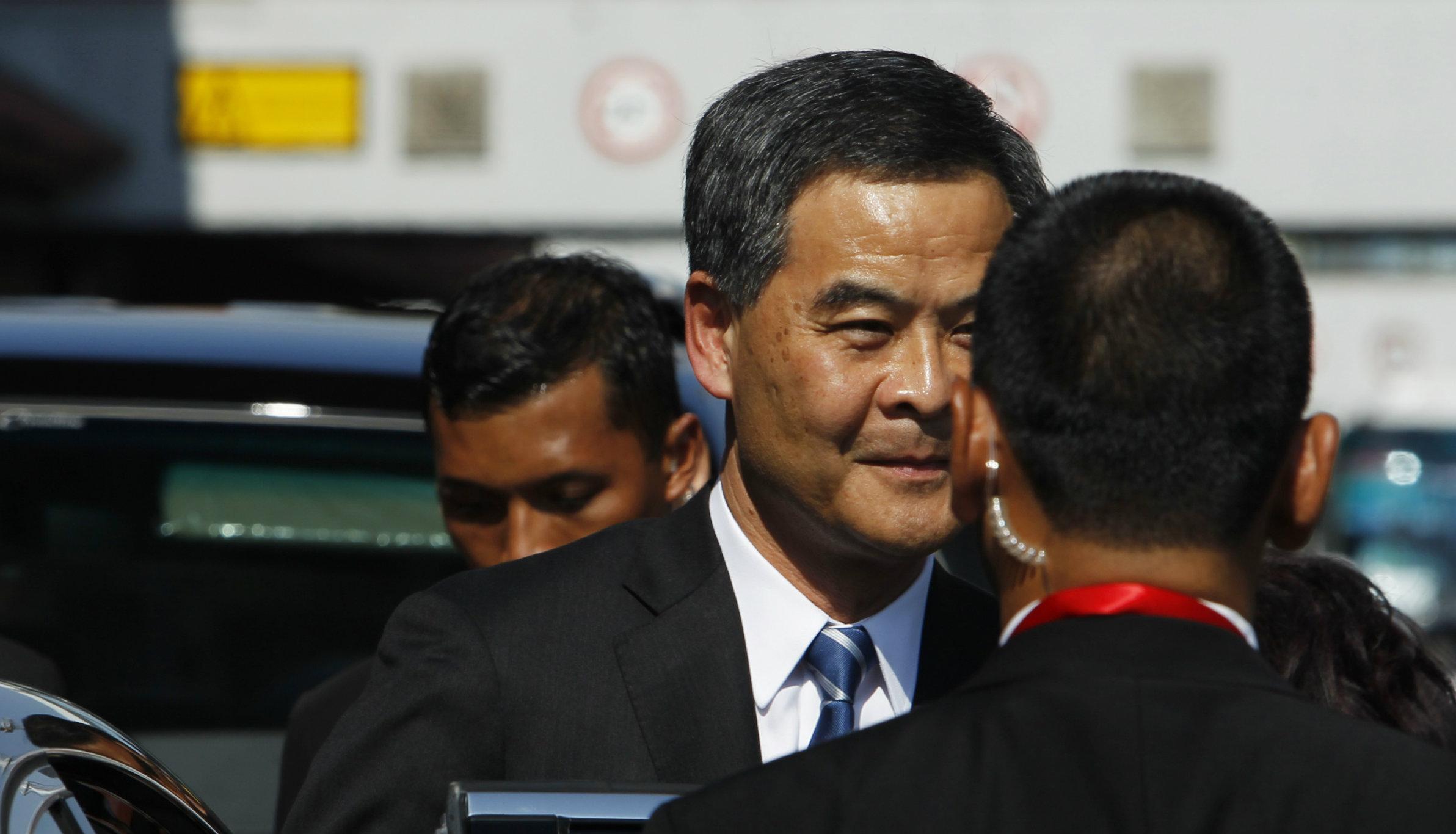 Hong Kong Chief Executive CY Leung