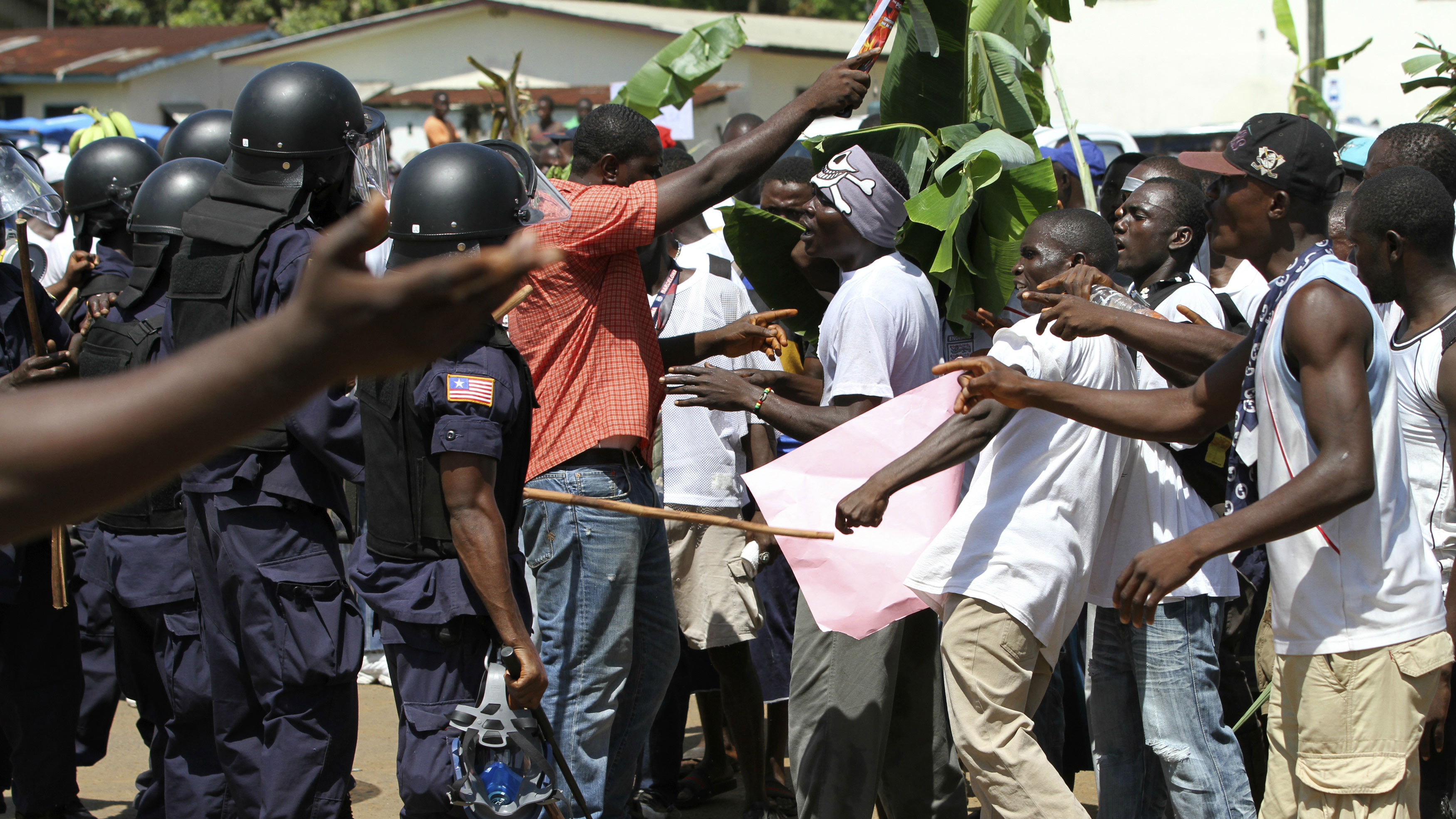 Dispute in Monrovia