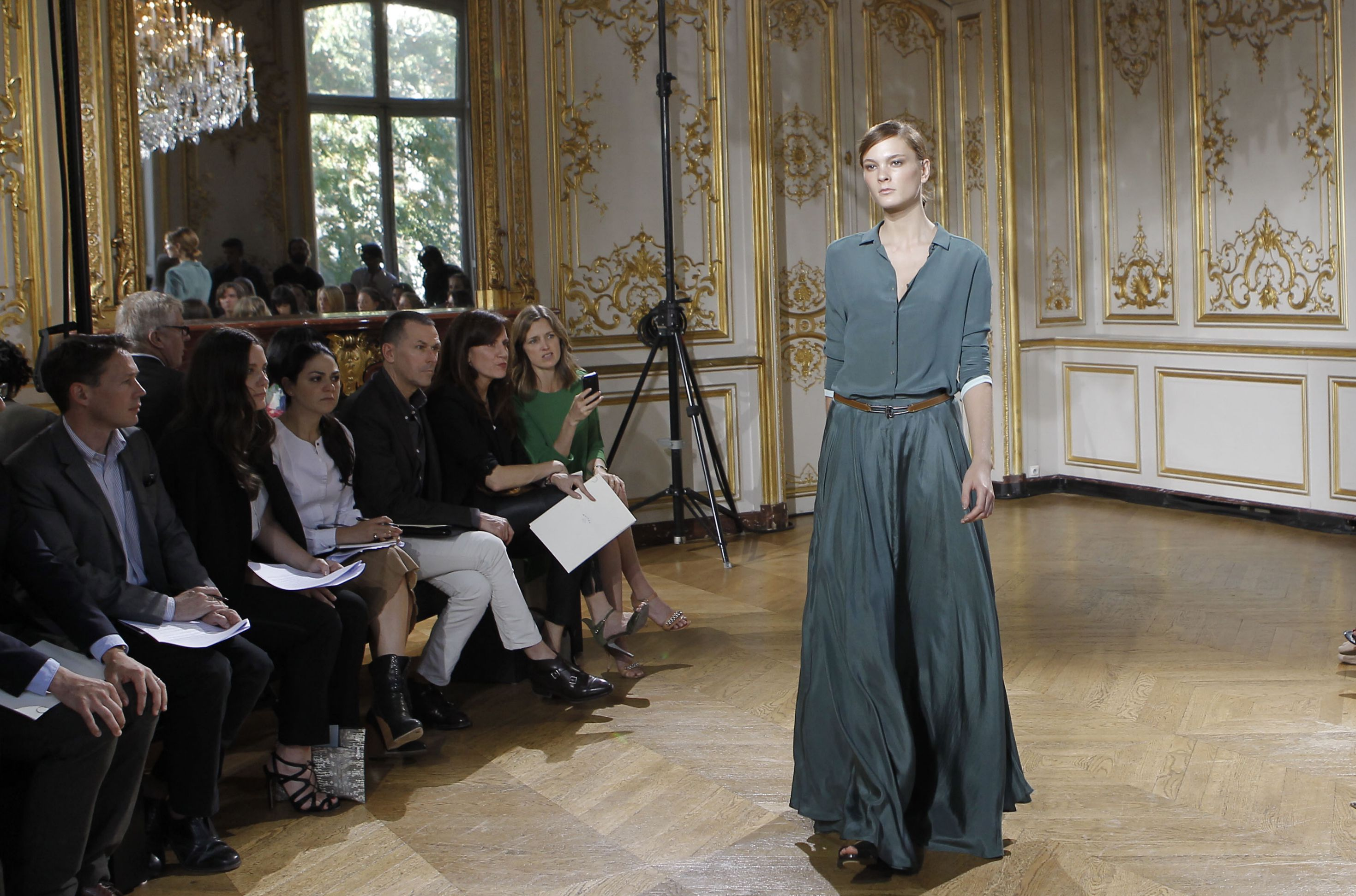 elegant disruption, Maiyet, fashion show, Paris, artisan-made fashion