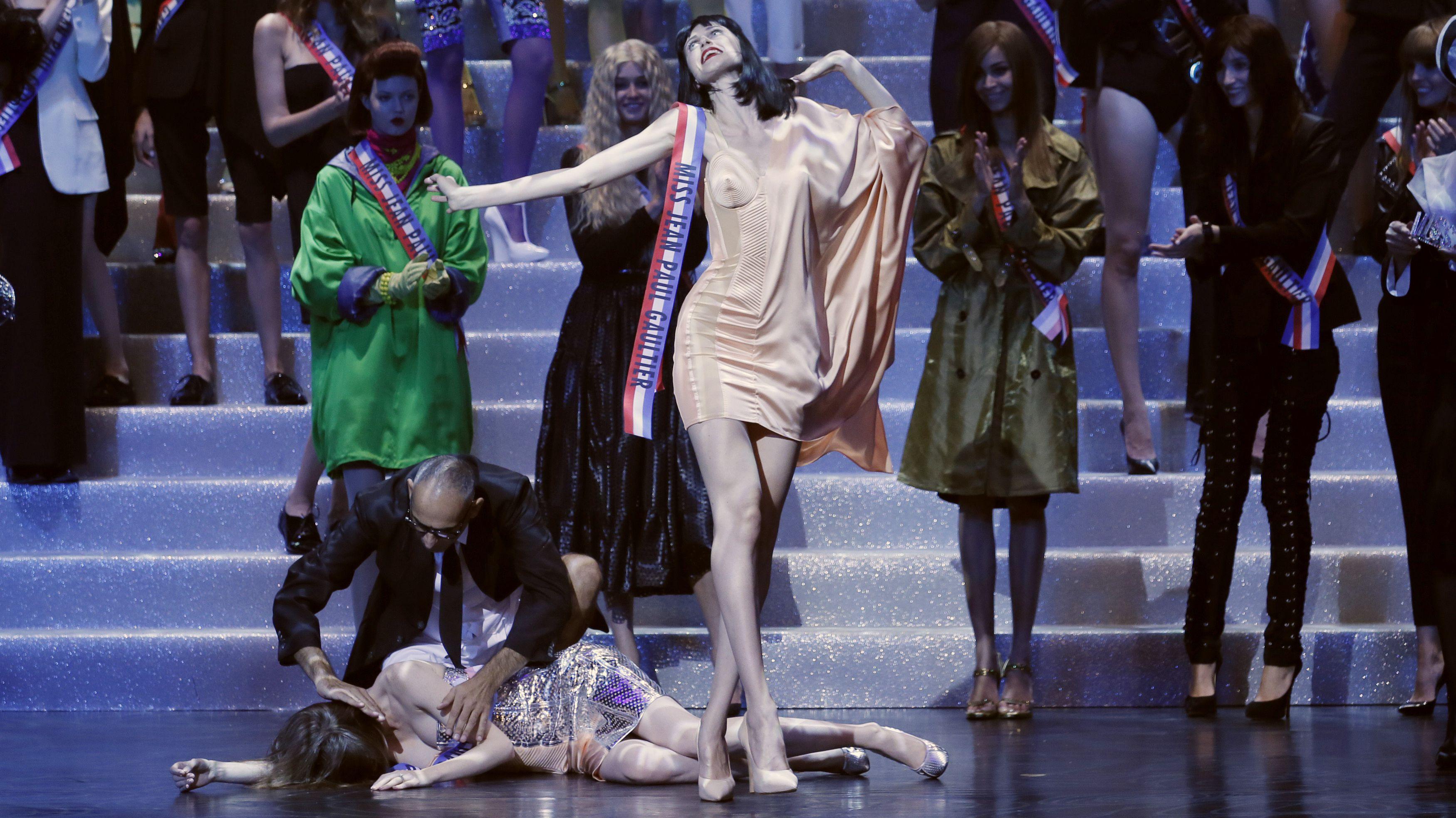 Jean Paul Gaultier finale at Paris Fashion Week , spring 2015