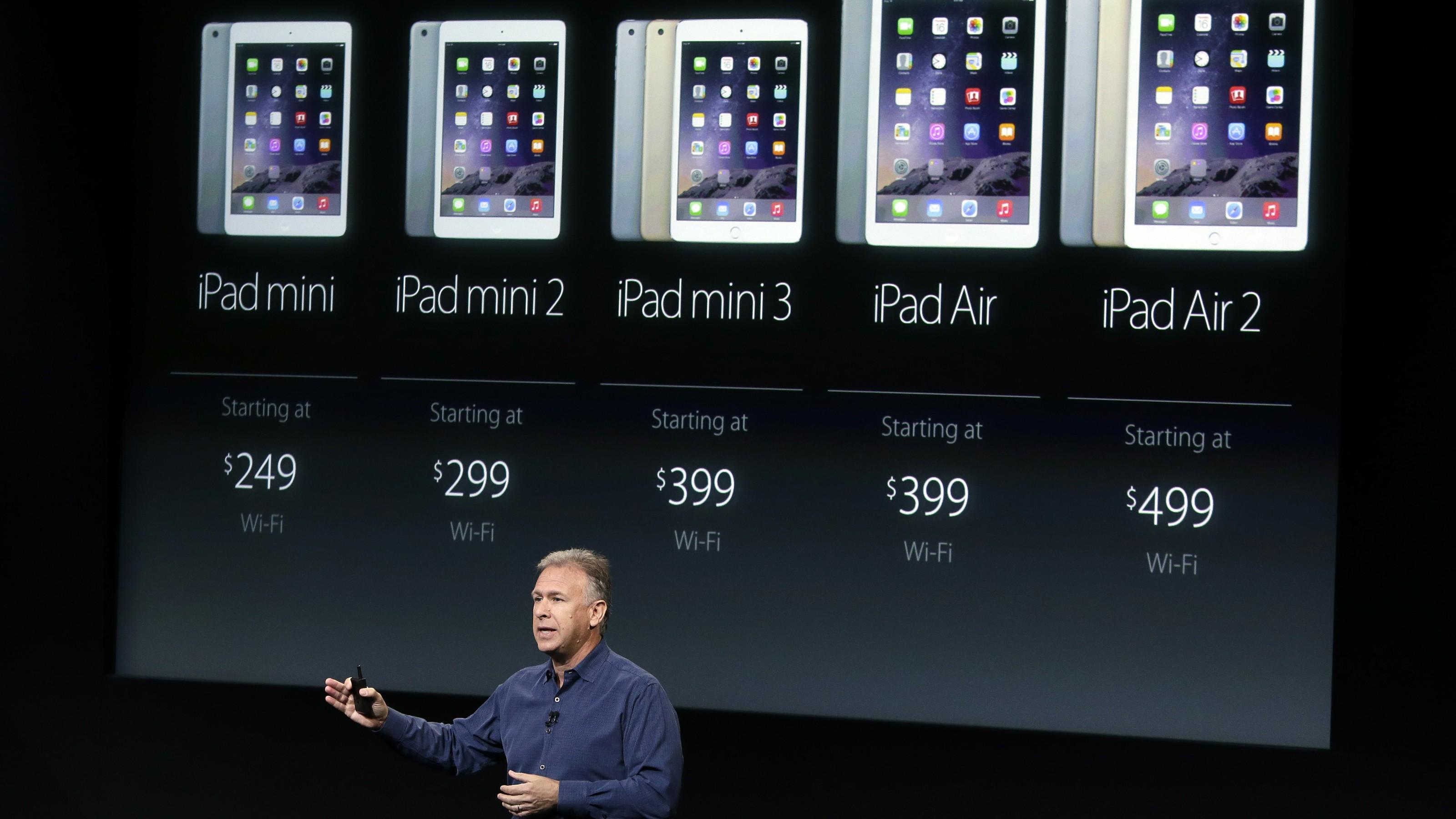 Phil Schiller iPads