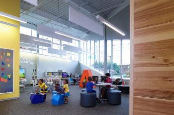 Ready for Kindergarten area of library