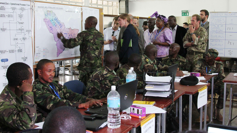 Ebola and US military