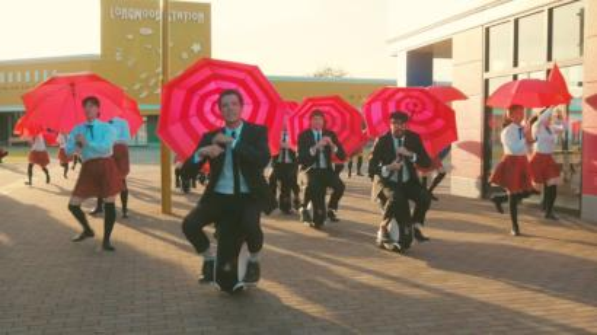 OK Go I won't let you down music video with Honda Uni-cub