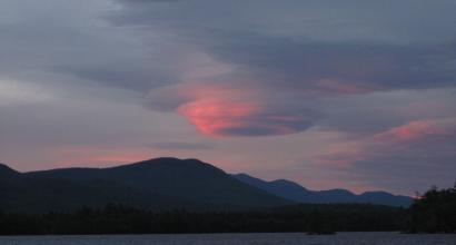 lenticular cloud in NH