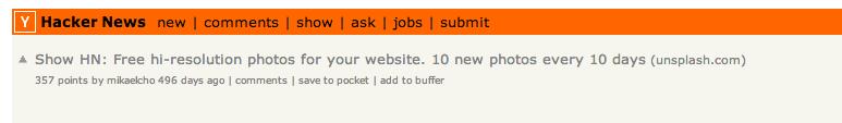 Thread on HackerNews