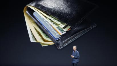Tim Cook talking about Apple Pay