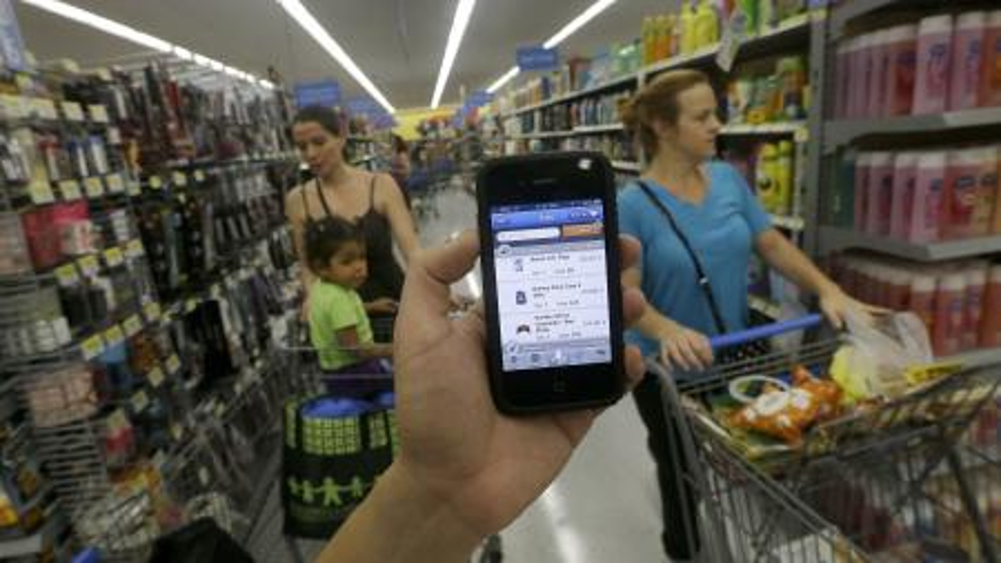 Walmart shopping app