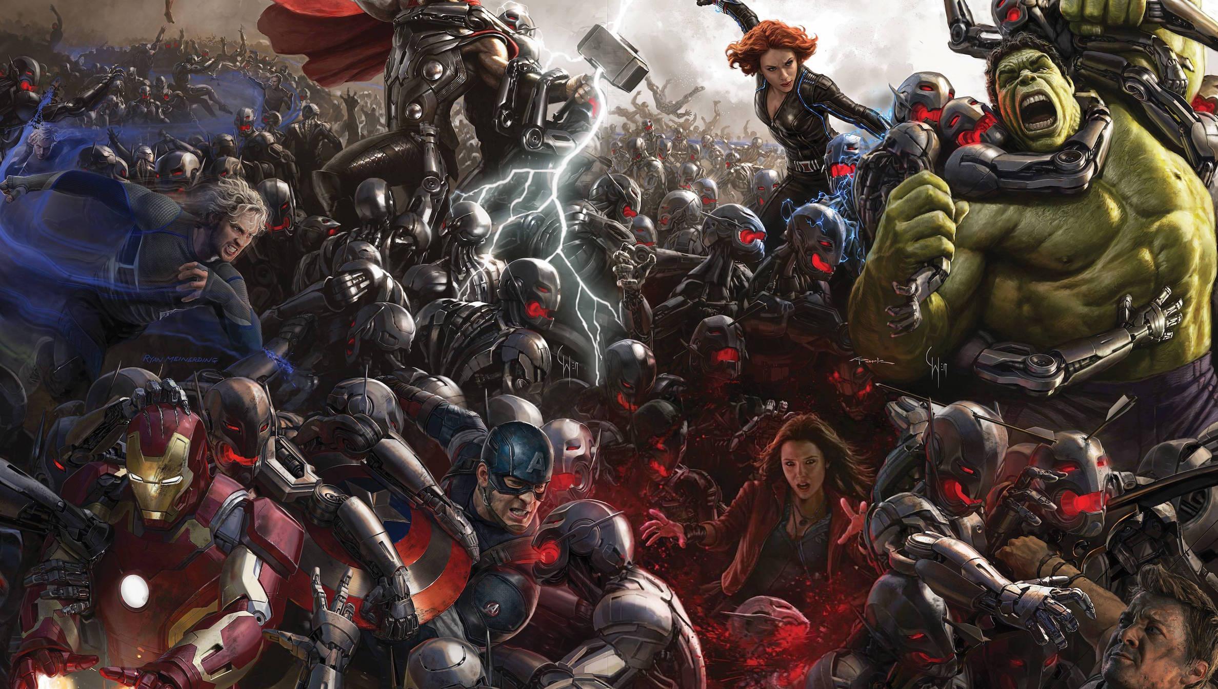 Avengers 2 artwork