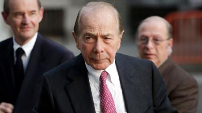 Maurice Greenberg, former CEO of AIG, arrives for a meeting of the insurance company's board of directors, Wednesday, Jan. 9, 2013 in New York. AIG is considering Wednesday whether the company should join a lawsuit against the government that spent $182 billion to save it from collapse.