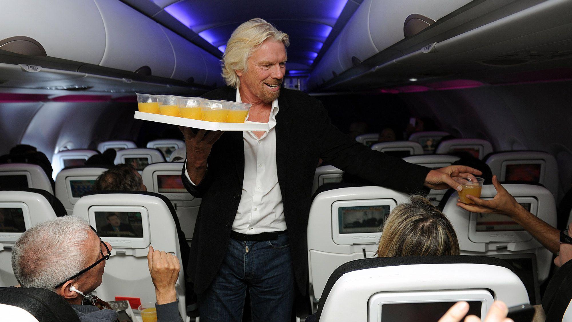 Richard Branson on Virgin America.