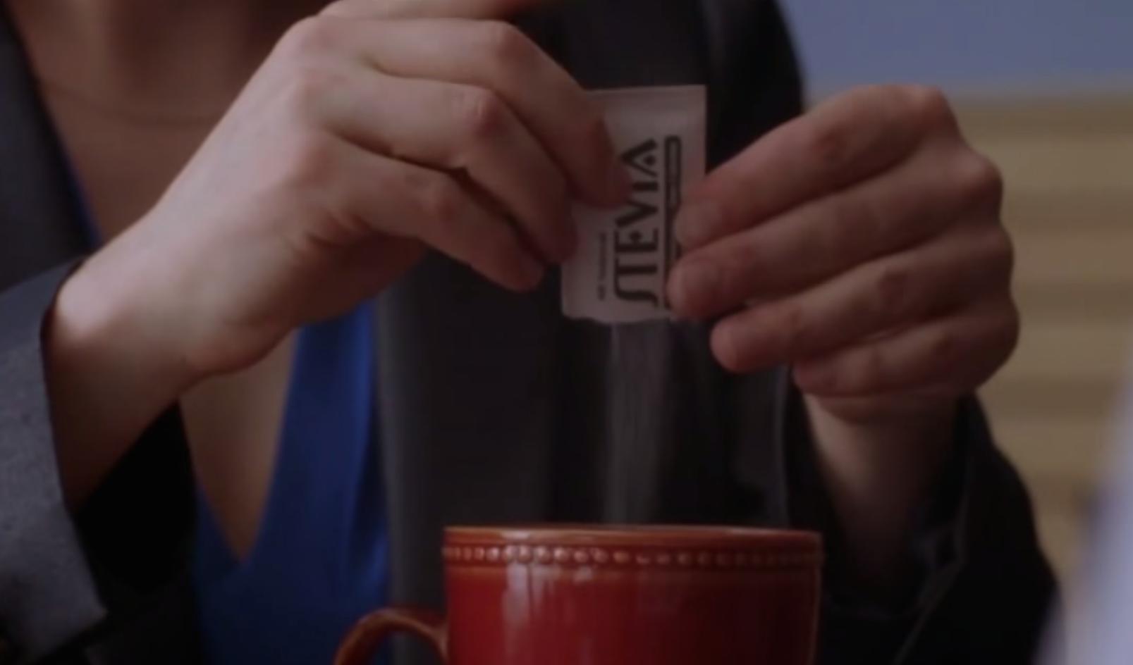 Stevia packet in Breaking Bad