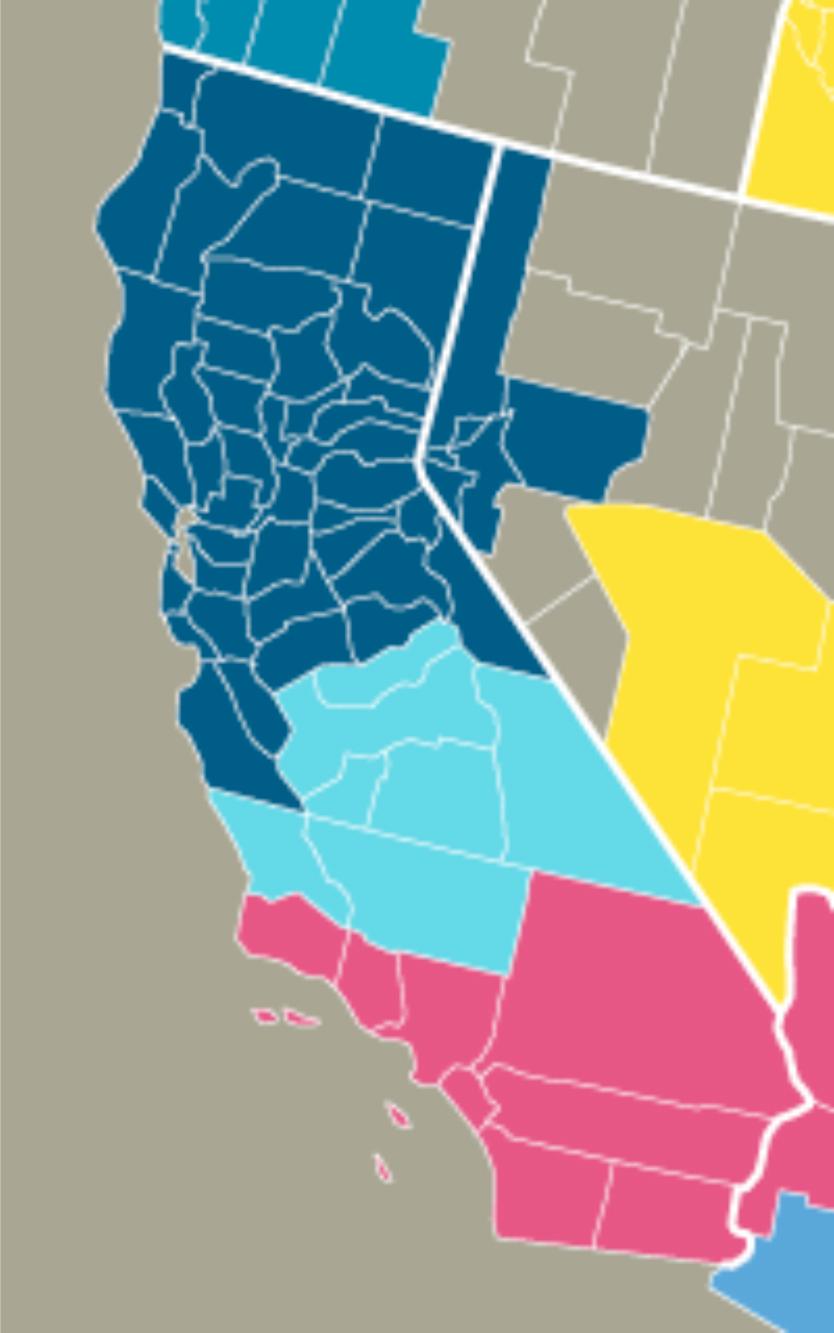 California divisions texting