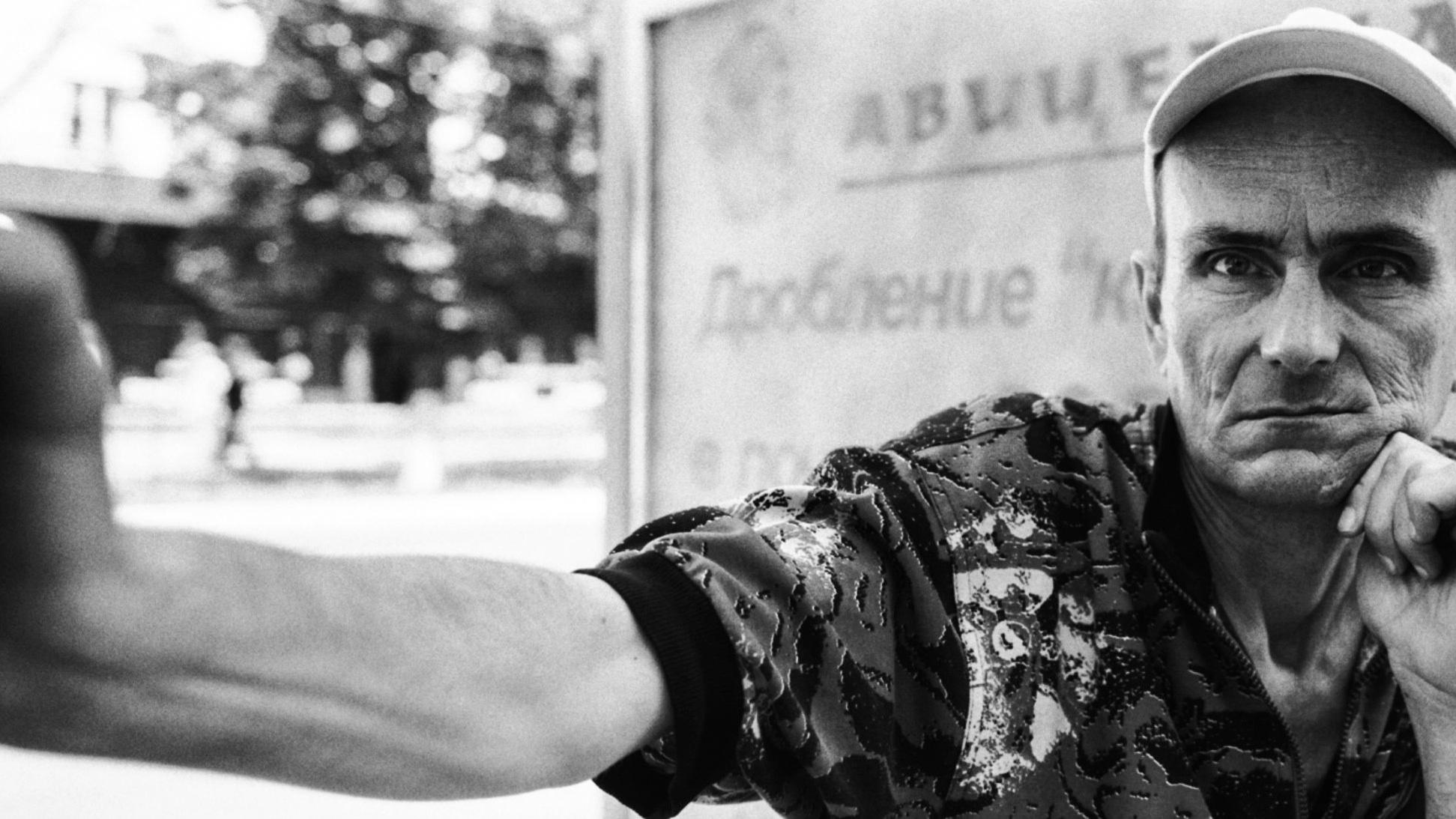 Igor, 49, a heroin addict from Simferopol